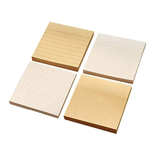 NUOBESTY 4Pcs Square Note Cube selbstklebende Notizzettel Notizzettel Notizzettel Notizzettel Notizzettel Notizzettel Notizzettel Notizzettel Notizzettel Notizzettel Notizzettel Notizzettel (Cube Recyceln)