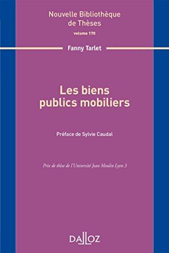 Les biens publics mobiliers par From Dalloz-Sirey