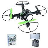 Angel Drone avec Camera et ecran Quadricoptère télécommandé Drone 2.4G à 6 Axes sans Mode
