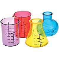 Chemistry Science Lab Equipments a forma di bere cocktail shot Glass party set