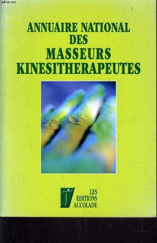 ANNUAIRE NATIONAL DES KINESITHERAPEUTE