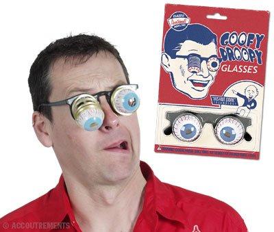 Spaß Brille GOOFY DROOPY - wie ein Depp aussehen...