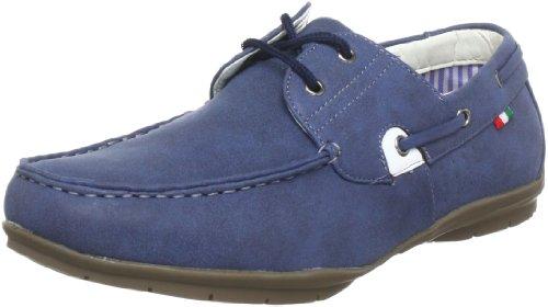 Stallion 364206.422, Mocassins homme Bleu (Türkis)