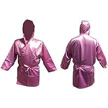 Boxeo Manto pink tamaño junior / chica Abrigo para boxeo kickboxing promoción