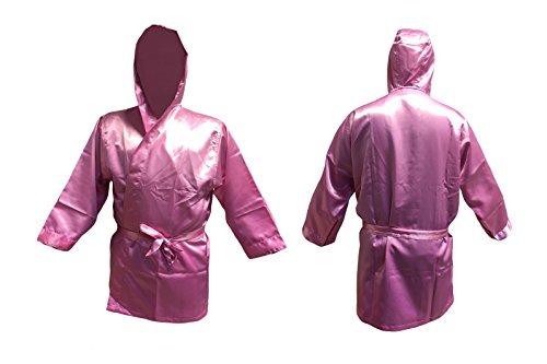 Budodrake Boxmantel pink für Boxer Kickboxer Promotion Boxing für Mädchen (Junior)