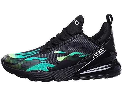 Imagen de sinoes zapatos hombre verano mocasines zapatos casuales de tenis para hombre zapatos deportivos con cordones de peso ligero y transpirables alternativa