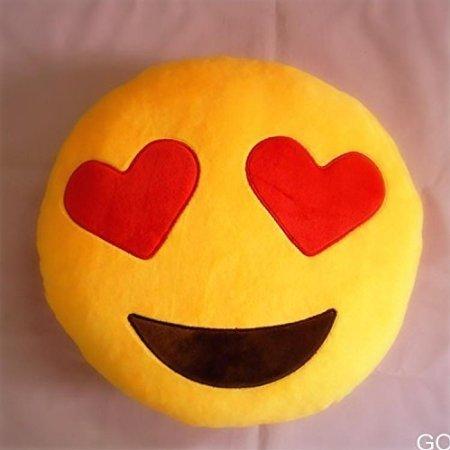 Miryo-Cojín con diseño de emoji