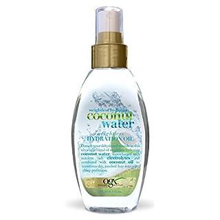 (OGX) Organix Coconut Water Hydration Oil 4oz (3 Pack) by (OGX) Organix