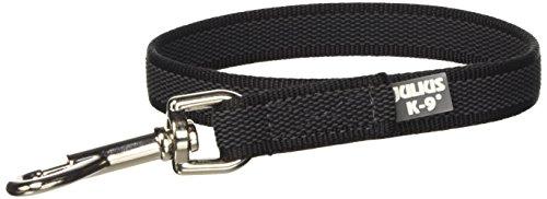 Artikelbild: Julius-K9, 216GM-0,45 Color & Gray Gumierte Leine Schwarz-Grau 20mm*0,45 m ohne Schlaufe, max. für 50 kg Hunde