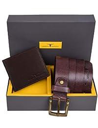 Urban Forest Henry Wallet and Belt Combo Gift Set for Men