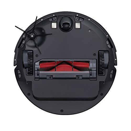 Roborock S6 - Robot aspirador 2 en 1 (aspira y friega), con mapeo y app., batería hasta 3 horas, navegación inteligente con laser de alta precisión y procesador 4 núcleos, color negro