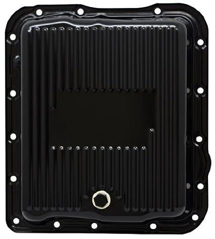 CFR Performance Chevy/GM 700R4-4L60E-4L65E Steel Transmission Pan - Black EDP by CFR Performance - Transmission