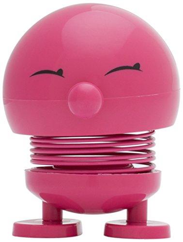 Baby Hoptimist Bimble, piccolo, bambina con Sorrisi occhi, decorazione - / gioco idea, in Plastica, Colore Rosso, 2003-41 Pink