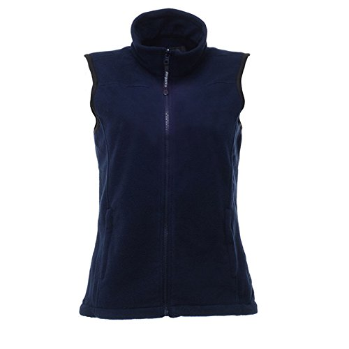 Regatta Womens Haber II Fleece Bodywarmer Gilet Dark Navy