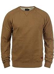 Idea Regalo - BLEND Alex - Felpa da Uomo, taglia:M;colore:Dark Mustard (75116)