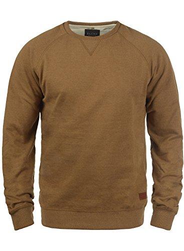 BLEND Alex 20701680ME Sweatshirt, Größe:S;Farbe:Dark Mustard (75116)