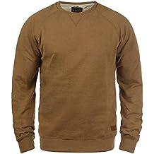 33d5bf96aad1b Blend Alex Jersey Sudadera Suéter Para Hombre Con Cuello Redondo Con Forro  Polar Suave Al Tacto