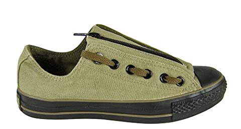 All Star Olive - CONVERSE cT éclair ox 100289 olive/gris -