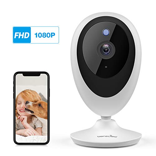 Wansview WiFi IP Camera, 1080P Baby Camera K5, Pet Camera Monitor Wireless  Home Security Camera with Motion Detection 2-Way Audio Night Vision, Works