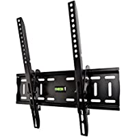 """Yousave Accessories Slim Compact TV Wall Mount Bracket for 26"""" to 50"""" LED, LCD and Plasma Flat Screen Televisions"""