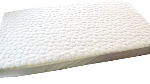 My Little Nest Pebbletex Natural Tencel Quilted Waterproof Mattress Pad, Crib by My Little Nest (English Manual)