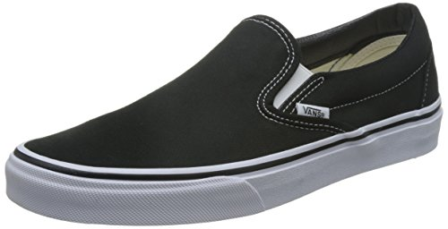 Vans U CLASSIC SLIP-ON, Sneaker Unisex Adulto, Nero (Black), 42