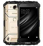 DOOGEE S60 lite - 5,2 Zoll FHD Wasserdicht / Stoßfest / Staubdicht 4G Smartphone, 5580mAh Akku Schnelle Ladung (drahtlose Ladung unterstützt), 1,5 GHz Octa Core 4 GB + 32 GB, 8MP + 16MP, NFC GPS Metallrahmen - GOLD