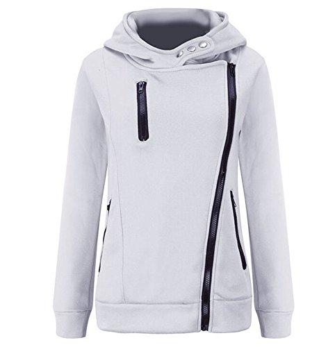 Keephen Frauen Hoodie Zipper Pullover Apparel Coat (Aeropostale Hoodies Frauen)