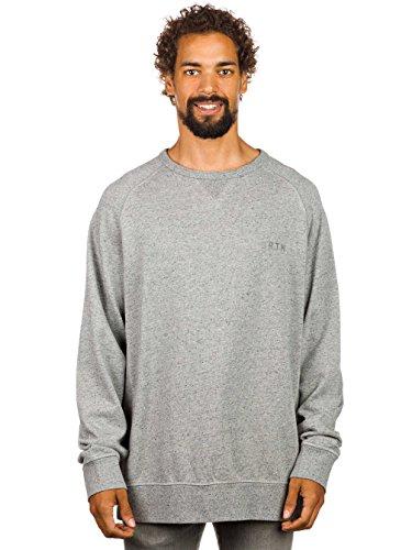 Herren Sweater Burton Park Crew Sweater monument heather