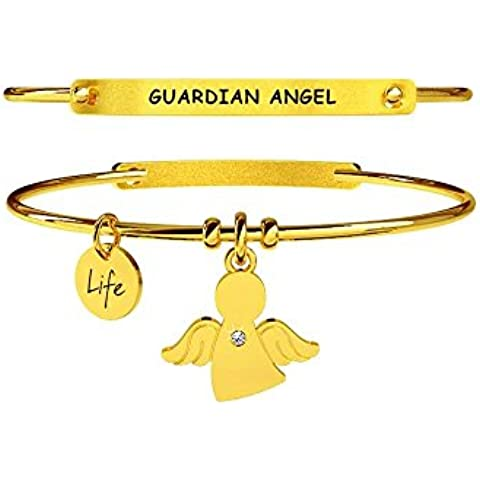 KIDULT LIFE Collection Bracciale in acciaio pvd gold 231670 ANGELO