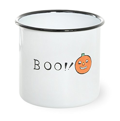 Boston International All Saints' Eve Emaille-Vorratsdose, 15,2 x 11,9 cm, Boo!
