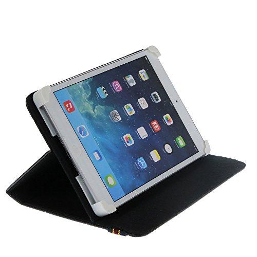 """cover tablet 7 pollici Danystar® Custodia Cover Universale 7"""" per Tablets (Nero)"""