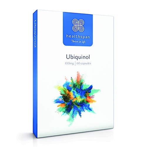 41kJThw23AL. SS500  - Ubiquinol   Healthspan   60 Capsules   Added Vitamin B1   100mg Ubiquinol Per Capsule   Most Absorbable Form of Coenzyme…
