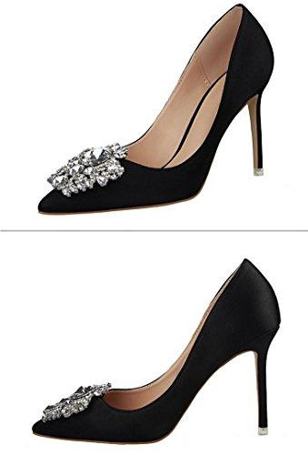 Chaussures de soirée de mariage Black