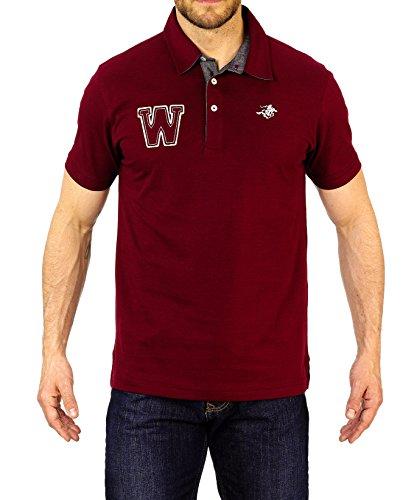 Winchester Rider1Polo Shirt Größe L bordeaux