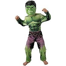 Rubies Marvel - I-888911m - Disfraces clásicos para niños - Hulk Avengers Assemble - Talla M