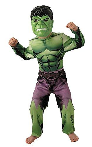 Marvel - I-888911m - Disfraces clásicos para niños - Hulk Avengers Assemble - Talla M