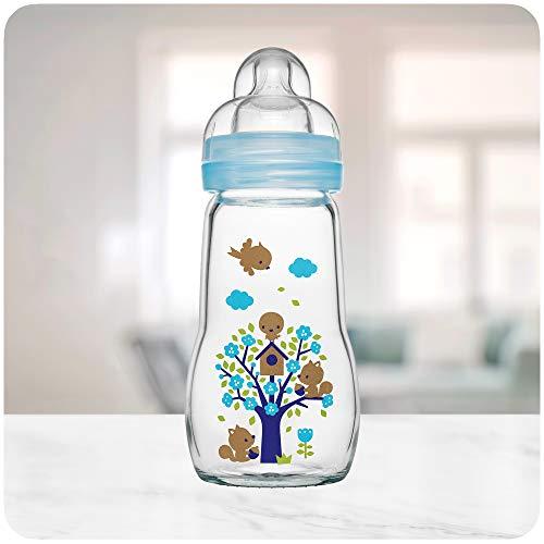 MAM 67036711 - Feel Good Glass Bottle 260 ml, botella...