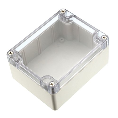 ZCHXD 115x90x57mm Electronic Waterproof IP65 Sealed ABS Plastic DIY Junction Box Enclosure Case Clear -