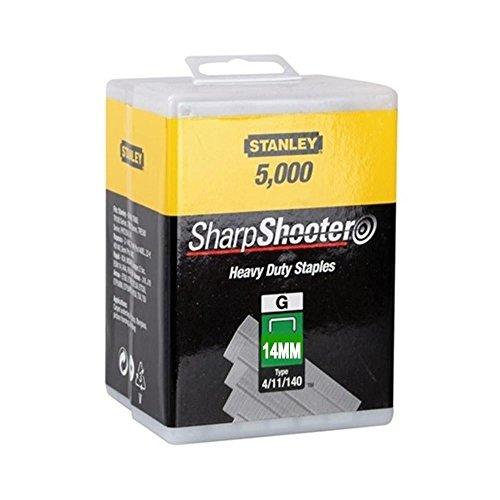 Stanley très résistant Agrafes 14mm (5000) 0tra709–5T