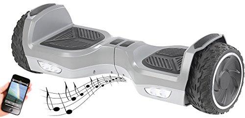 Speeron Hoverboard: Elektro-Scooter mit 7'-Rädern, Lautsprecher, 600 Watt,...