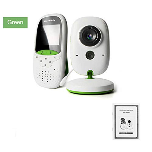 DZSF 2,0 Zoll Wireless Video Baby Monitor Kindermädchen Kamera 2 Way Talk Nachtsicht IR LED Temperatur Monitor Infant Baby Sleep Cam Farb-dome-video
