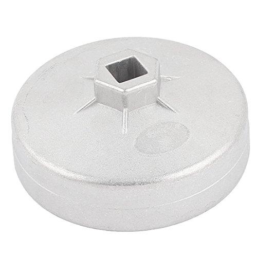 sourcingmap® 92 mm Dmr 15 Flöten Öl Filter Buchse Tasse Schraubenschlüssel Werkzeug für Auto (Schraubenschlüssel Tasse)