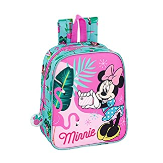 Minnie Mouse «Palms» Oficial Mochila Infantil 220x100x270mm