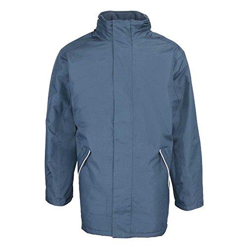 RTY Mens Workwear Professional Waterproof Windproof Jacket Coat Black, Navy Navy