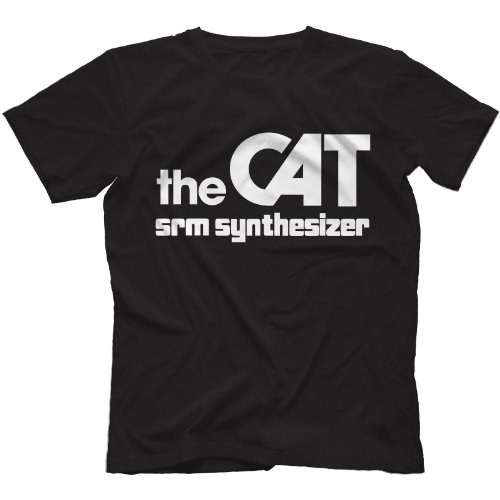 The CAT SRM Synthesizer T-Shirt in 13 Farben Schwarz