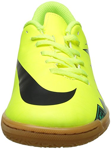 Nike Jr Hypervenom Phade Ii Ic, Scarpe da Calcio Unisex-Bambini Jaune - Amarillo (Volt / Black-Hyper Turq-Clr Jade)