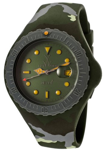 Swiss Legend Jelly JTBA01HG 44mm Rubber Case Green Rubber Mineral Women's Watch
