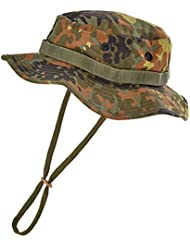 US GI Outdoor Boonie Hat de nailon krempen sombrero, color camuflaje, tamaño xx-large