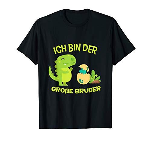 Geschwister Große Kostüm - Ich bin der große Bruder Dino Dinosaurier T-Shirt Geschenk